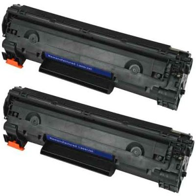 HP 78AD LaserJet P1566 / 1606DN Compatible Toner Cartridge CE278AD ( 2 Pack / 2 Cartridges )
